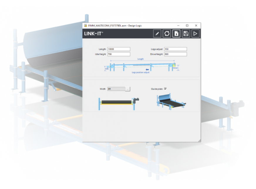 Advantis CAD Automatisering Link-it