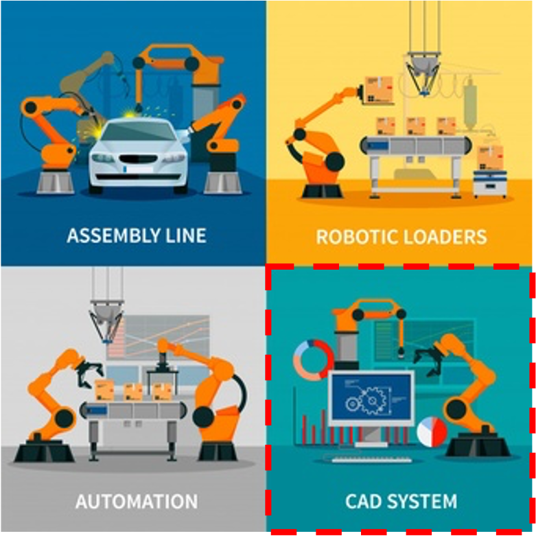 Advantis Industri 4.0 CAD